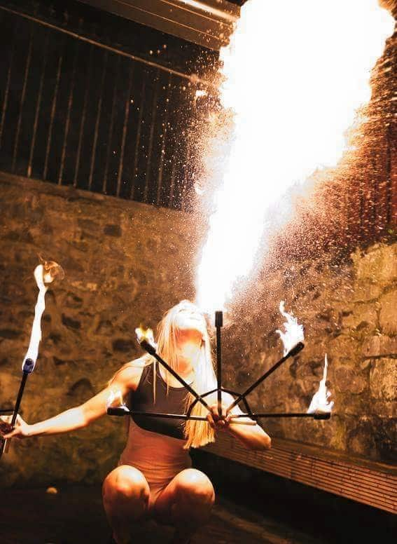 Sublime Fire Performers with www.audionetworks.ie