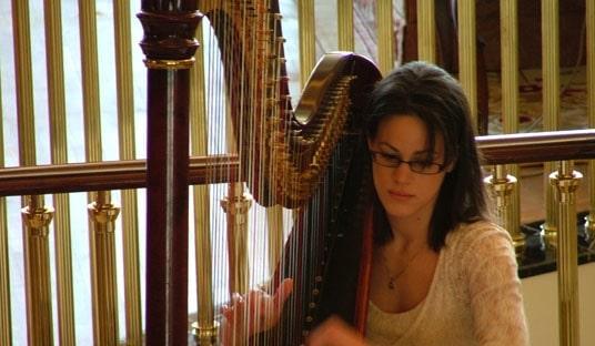 Classical Harpist