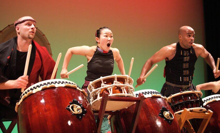 Japanese Drummers