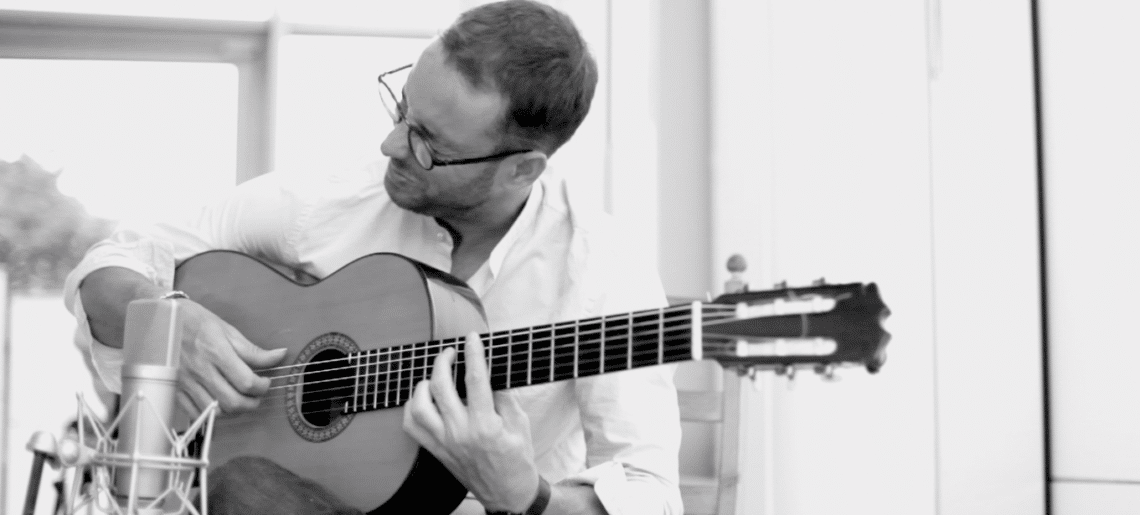 Spanish Flamenco Jazz Guitarist