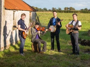 Ruaile Buaile Irish Trad Band for hire in Ireland via Audionetworks