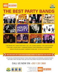 Best Party Bands available for bookings with Audionetworks