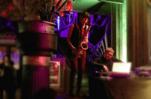 dj and sax