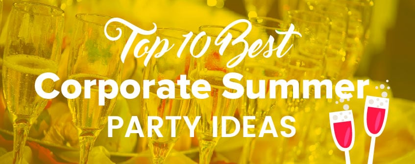 Best Corporate Entertainment Ideas for a Summer Party