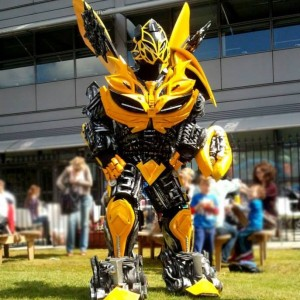 Transformer Bumble Bee Robot with Audionetworks