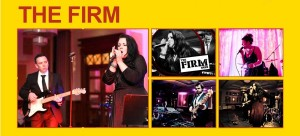 The Firm Wedding and Party Band with www.audionetworks.ie