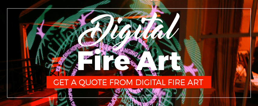Digital Fire Art Performers