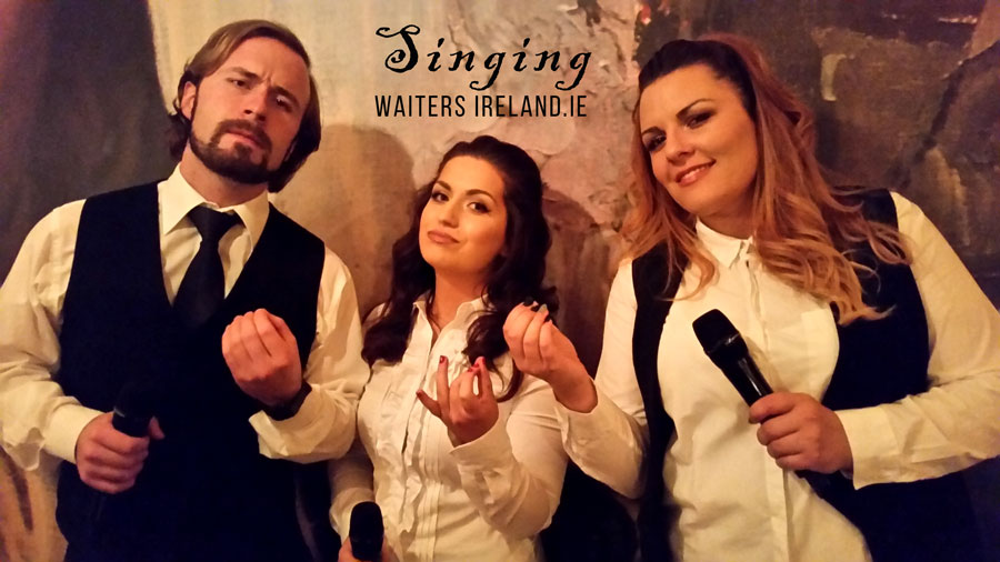 Singing Waiters – Best Surprise Wedding Entertainment
