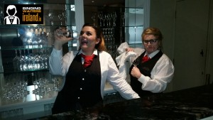 The Singing Diva Waiters with www.audionetworks.ie