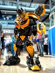 Bumblebee for hire with www.audionetworks.ie