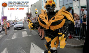 Transformer - Bumblebee from Robot Networks