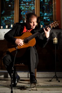 Classical Guitarist Pat Coldrick available with www.audionetworks.ie