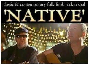 Native, acoustic rock wedding & party duo with www.audionetworks.ie