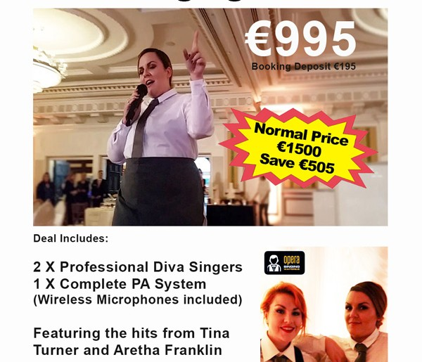3 Amazing Deals for Wedding Entertainment