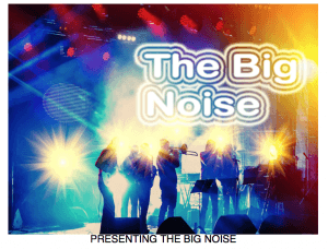 The Big Noise Band