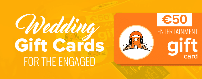 Wedding Gift Card Ideas for the Engaged!