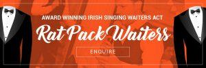 Rat Pack Singing Waiters Show