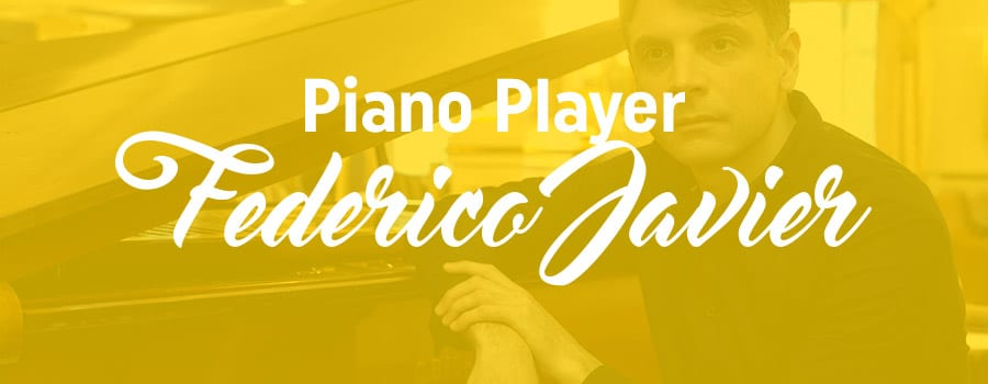 Piano Player Federico Javier