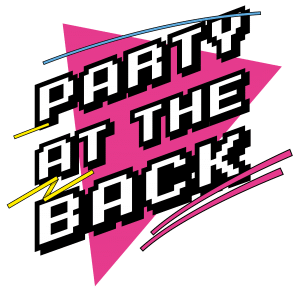 eighties band party at the back