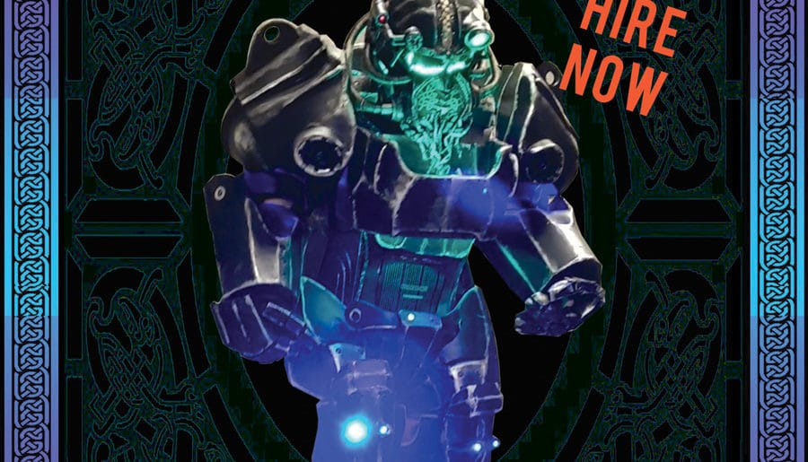 Brín – The Celtic Robot Warrior