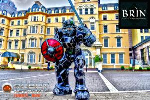 Brín - The Celtic Robot Warrior