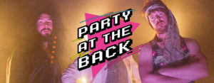 party at the back
