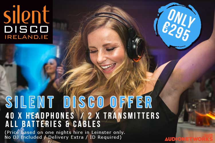 Silent Disco new wedding package