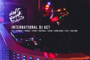 Daft Punk Tribute Wedding DJ's