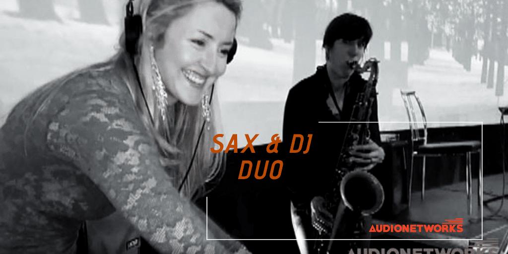 Wedding entertainment: Sax & DJ Duo