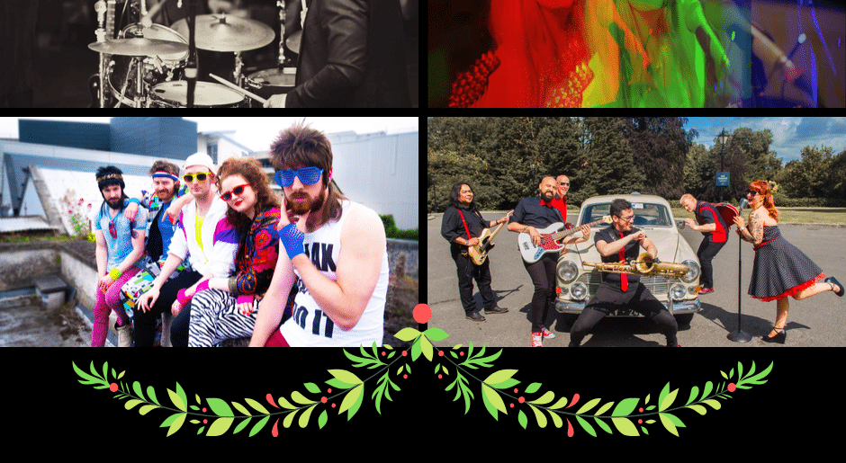 How to Completely change the style of your Christmas Party by Booking a Themed Party Band