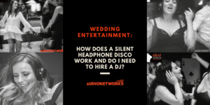 wedding Silent Disco entertainment