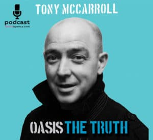 Tony McCarroll Oasis The Truth Live Podcast Show