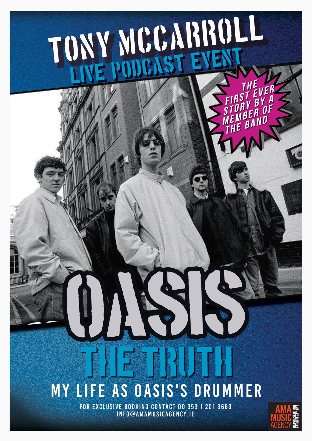 Tony McCarroll - Oasis The Truth Live Podcast Show
