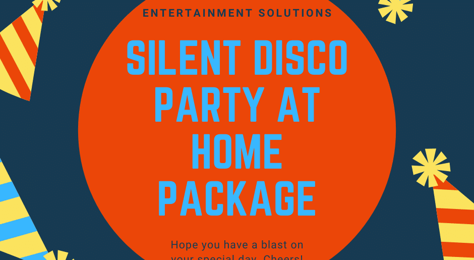 Silent Disco Party at Home Package